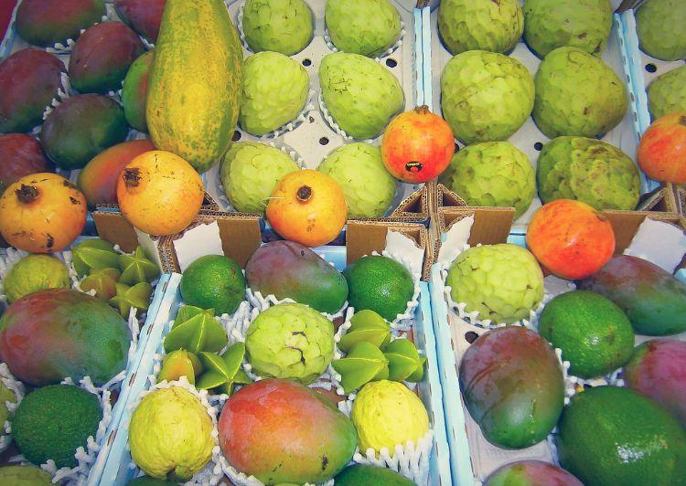 frutos subtropicales de almuñecar granada