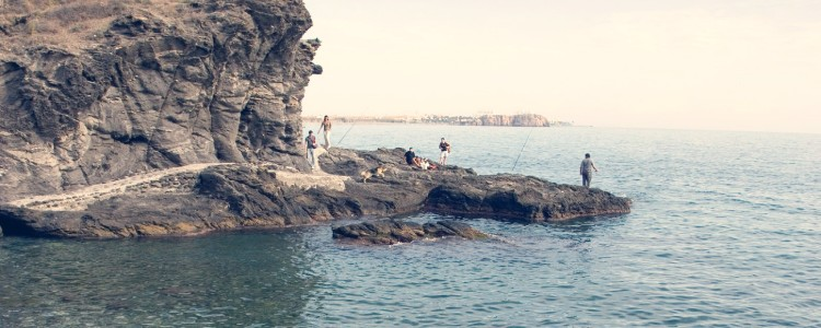 playa el caleton salobreña costa tropical de granada