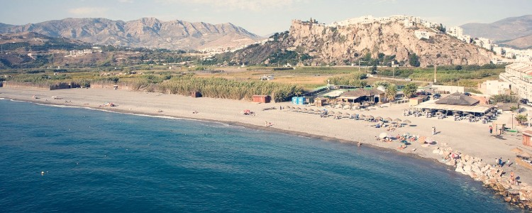 playa la guardia salobreña costa tropical de granada